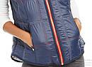 Теплая  синяя стеганная  жилетка   жилет  Томми  Хилфигер   Tommy Hilfiger Sport  (Размер L) Оригинал США, фото 3