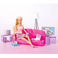 Игровой набор Гостиная в стиле Лофт с куклой Штеффи 29см и 20 аксессуарами - Loft Livingroom Steffi Love Simba