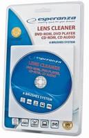 Чистящий диск для DVD/CD приводов ESPERANZA  Drive Cleaner CD/DVD/Blue Ray ES117