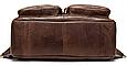 Рюкзак-Сумка 2 В 1 Для Ноутбука Vintage 20035 Коричневый, Коричневый, фото 5