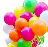 Доставка гелиевых шаров для запуска в небо 23 см (летают 5-6 часов)