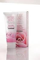 """Нежный крем для умывания с микрогранулами с с эктрактом болгарской розы и жемчуга серии """"Rose&Pearl"""""""