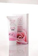 """Восстанавливающая маска для лица с эктрактом болгарской розы и жемчуга серии """"Rose&Pearl"""", фото 1"""