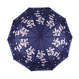 Женский зонтик полуавтомат с орхидеями от Flagman / Флагман, фиолетовый,  733-4, фото 2