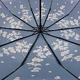 Женский зонтик полуавтомат с орхидеями от Flagman / Флагман, фиолетовый,  733-4, фото 5