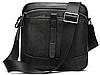 Компактная сумка через плечо из кожи Vintage 20034 Черная