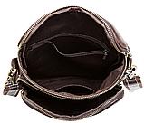 Сумка-мессенджер кожаная Vintage 20023 Бордовая, фото 5