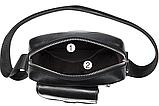 Компактная сумка из кожи Vintage 20030 Черная, фото 8