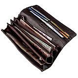 Жіночий шкіряний гаманець флотар KARYA 17377 Коричневий, Коричневий, фото 4