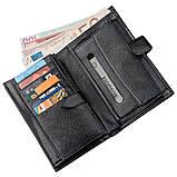 Місткий функціональний чоловічий гаманець KARYA 17368 чорний, фото 3