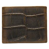 Бумажник горизонтальный Vintage 20042 коричневый