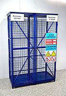 Клеть для хранения 8 (4+4) газовых баллонов