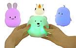 """Детский ночник-игрушка Click """"Hічні звірятка"""" Пингвин 12 см, фото 8"""