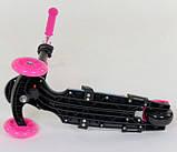 Самокат беговел scooter с родительской ручкой 5в1 Best Scooter 26901, фото 6