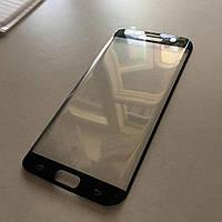 Защитное цветное 3D стекло Glass  (full glue) для Samsung G935F Galaxy S7 Edge