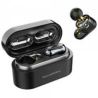 Bluetooth наушники гарнитура TWS SoundPeats TrueNgine, Black