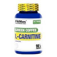 Для снижения веса FitMax Green COFFEE L-Carnitine - 90 капсул