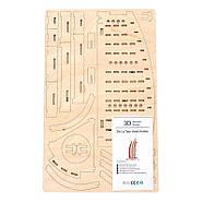 Деревянный конструктор Дубай Арабик гостиница 2020, фото 4