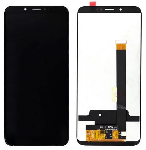 Дисплей модуль для ZTE Blade V18 в зборі з тачскріном, чорний
