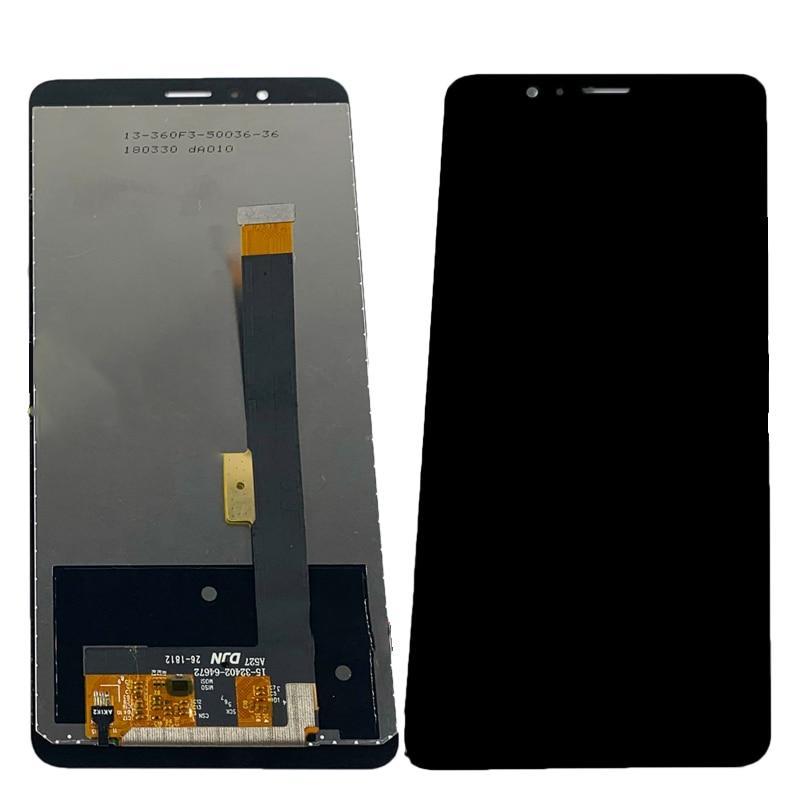 Дисплей для ZTE Nubia RED MAGIC NX609J модуль в сборе с тачскрином, черный