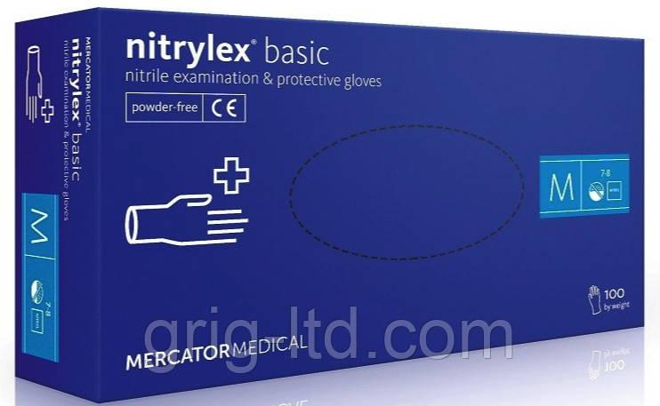 Перчатки нитриловые Nitrylex М