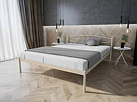 Кровать MELBI Лаура Двуспальная 140х200 см Бежевый, КОД: 1391994