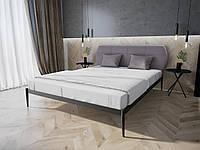 Кровать MELBI Бьянка 02 Двуспальная 120190 см Черный КМ-010-02-1, КОД: 1469530