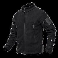 Тактична флісова куртка кофта Pave Hawk XL Black new71449, КОД: 1622363