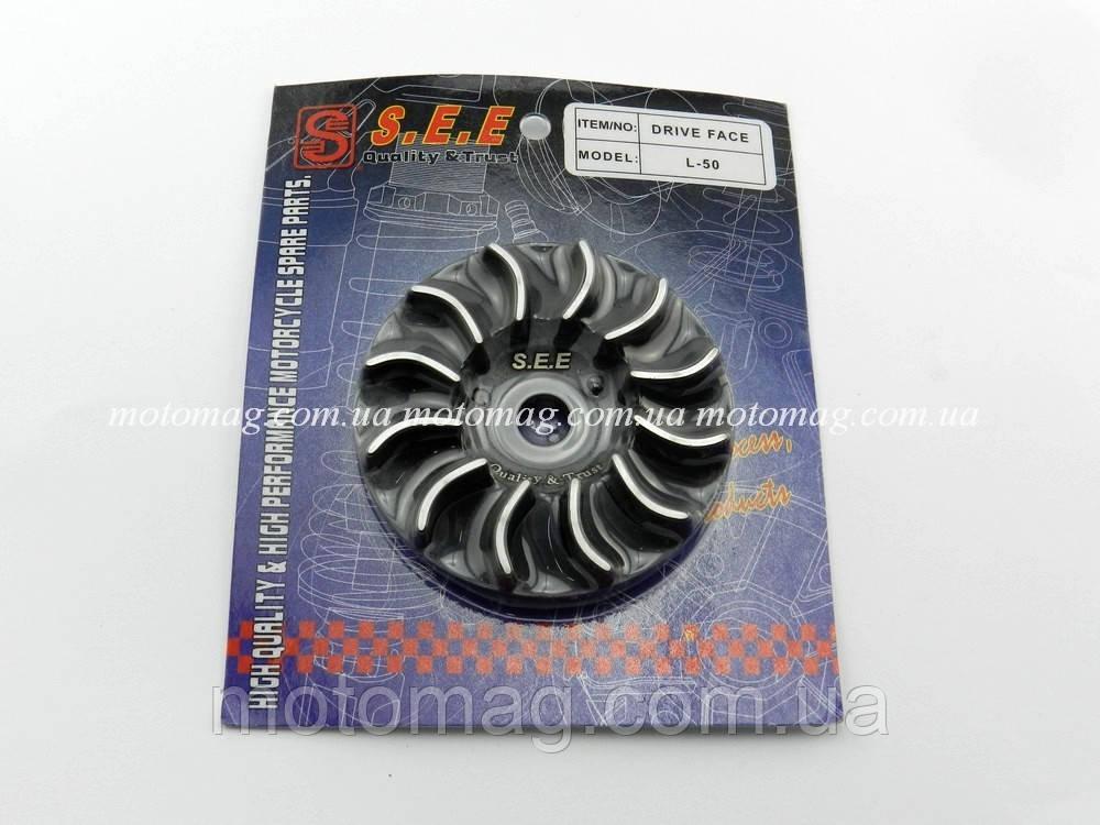 Крыльчатка (щека) вариатора Honda Lead 50cc SEE (тайвань)