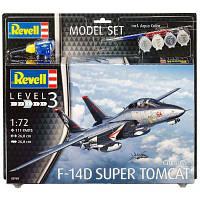 Сборная модель Revell Истребитель F-14D Томкэт уровень 3, 1:72 (RVL-63960)