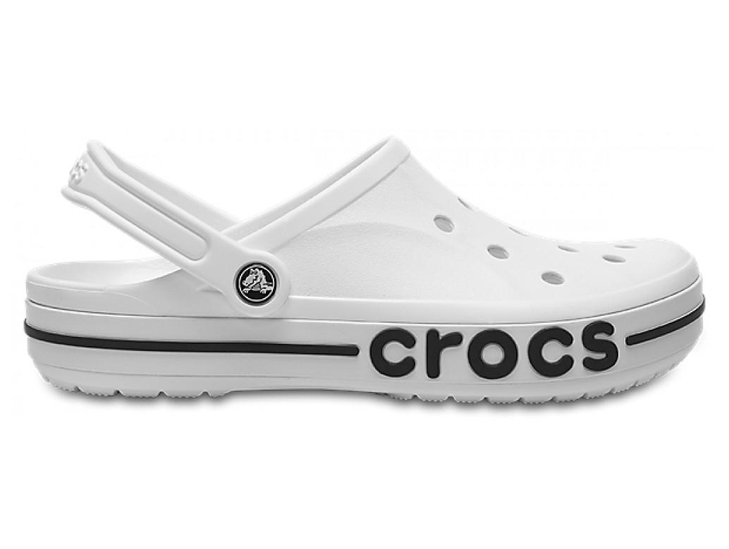 Кроксы летние Crocs Bayaband Clog белые