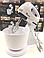 Ручной миксер с чашей Domotec MS-1366 200W белый, фото 6