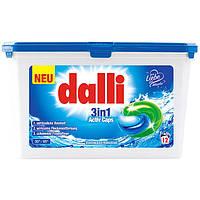 Гель-капсулы для стирки Dalli 3 в 1 Activ Caps, 12 шт