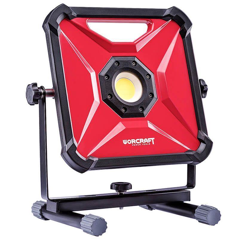 Портативная диодная лампа аккумуляторная Worcraft CLED-S20Li-30W с АКБ (2А) и ЗУ