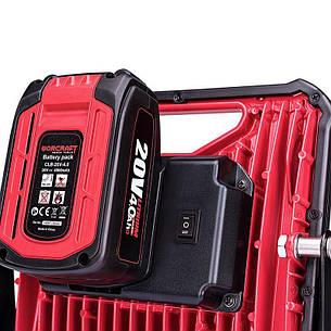Портативная диодная лампа аккумуляторная Worcraft CLED-S20Li-30W с АКБ (2А) и ЗУ, фото 2