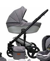 Детская универсальная коляска 2в1 Mikrus Comodo 23 (Серый)