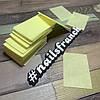 Салфетки безворсовые для маникюра 100 шт цветные, фото 2