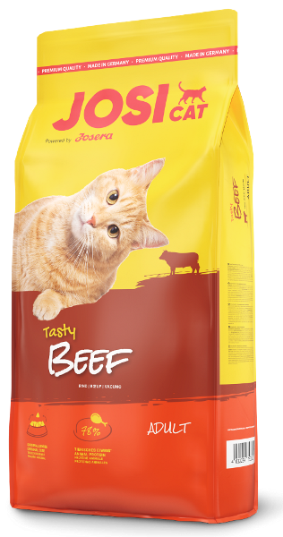 Корм для котов JosiCat Tasty Beef 18 кг (Говядина)