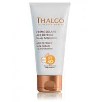 Антивозрастной Солнцезащитный Крем Thalgo Age Defence Sun Screen Cream SPF30
