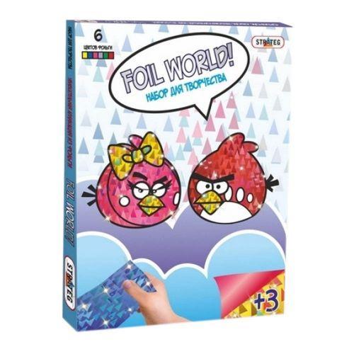 """Картина из фольги """"Angry Birds""""  sco"""