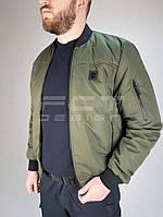Куртка демисезонная пилот олива 48-50/4 р