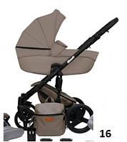 Детская универсальная коляска 2в1 Mikrus Comodo 16 (Бежевый)