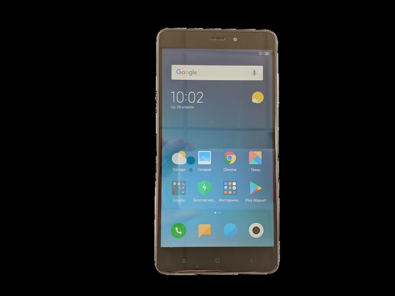 Xiaomi Redmi Note 4 3/32GB Silver Grade C Б/У