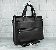 Кожаный портфель, сумка для документов Montblanc 8832-3 формата А-4