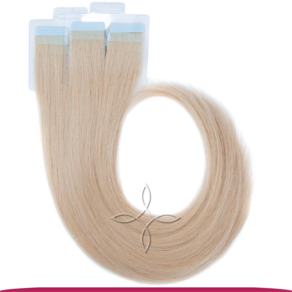 Натуральные Европейские Волосы на Лентах 60 см 100 грамм, Светло-Русый №18