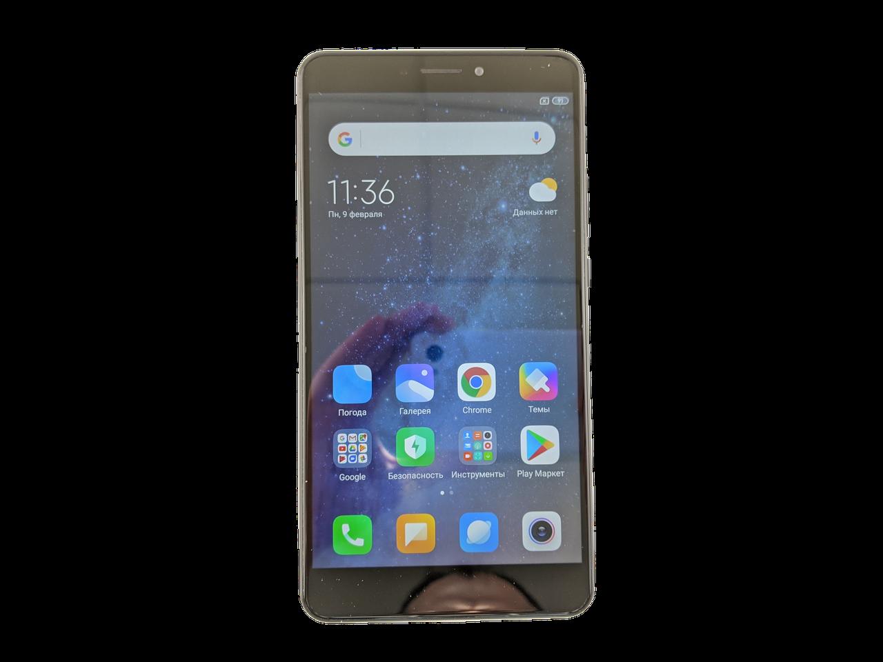 Xiaomi Mi Max 2 4/64GB Black Grade B2 Б/У