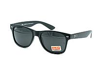 Очки Ray Ban Wayfarer 2140 солнцезащитные - черные матовые (реплика)