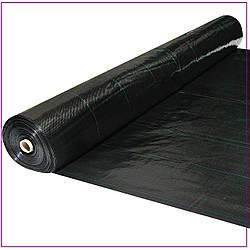 Агроткань  черная 100 г/м² , 1,7 х 25 м.