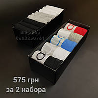 Набор трусов боксеры Calvin Klein 5 шт + набор носков Tommy Hilfiger/CK 9 пар