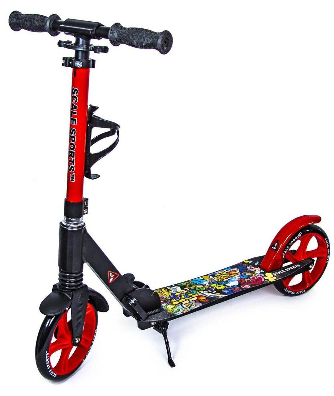 Самокат детский двухколесный Scooter Scale Sport